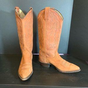 """Dan Post """"Marlboro"""" Cowboy Boots - 7.5"""
